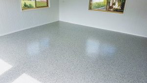 Flake-Flooring-to-Garage